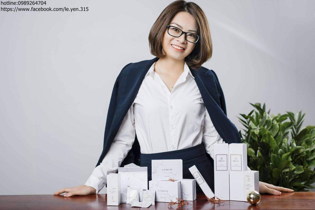 Lê Yến cũng là một doanh nhân