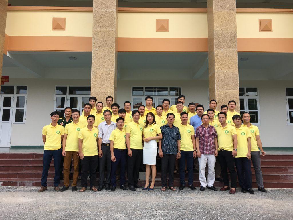 Lớp Cầu đường 1C-Học viện kỹ thuật quân sự