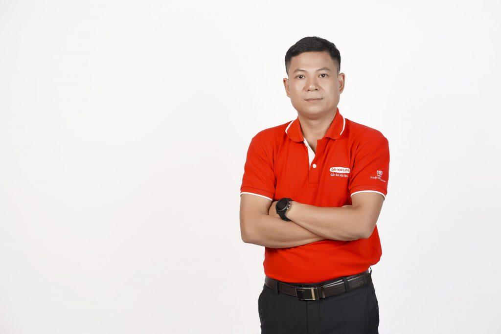 Trần Xuân Bình Trưởng nhóm kinh doanh cấp cao Công ty BHNT Daiichilife Việt Nam