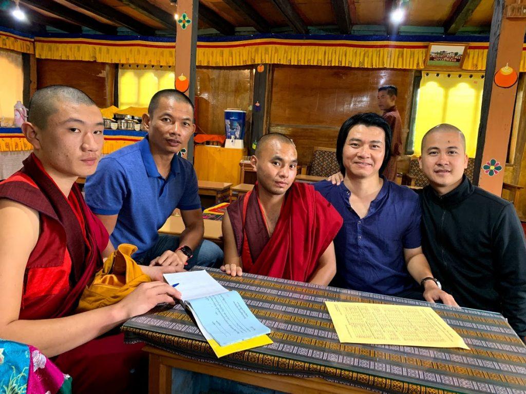 Nguyễn Thành An Du lịch tại Bhutan