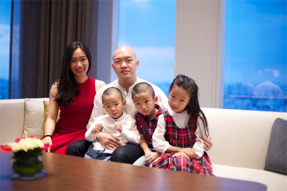 Trần Thảo Vi - Bà mẹ 3 con