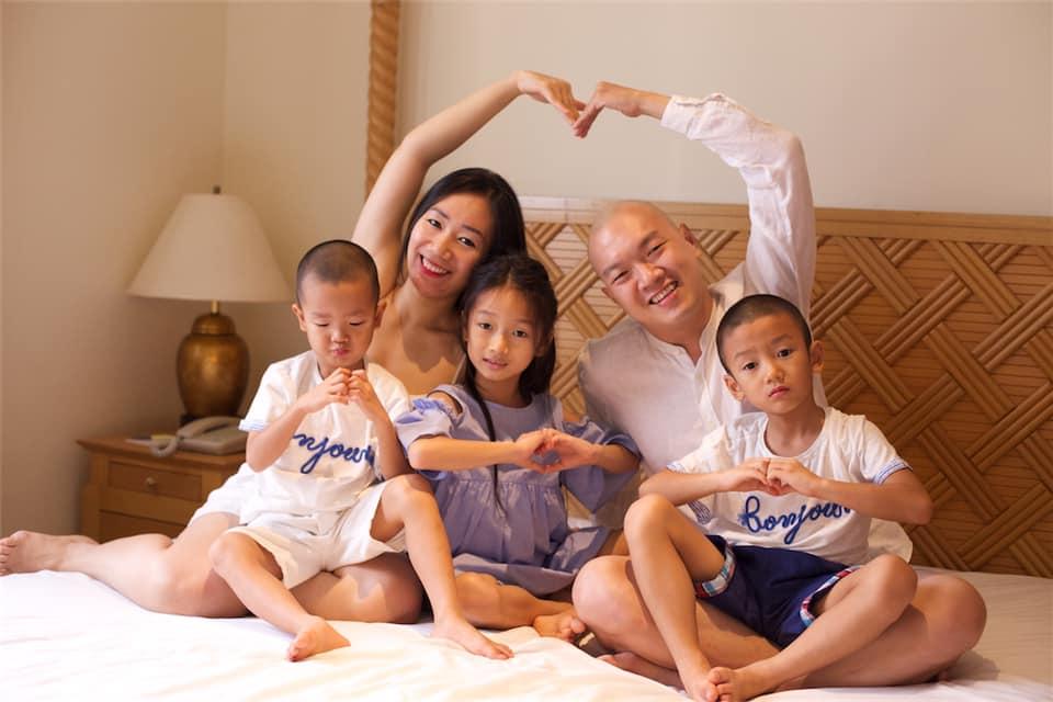 Trần Hữu Tài Diễn giả, Ông bố của 3 con