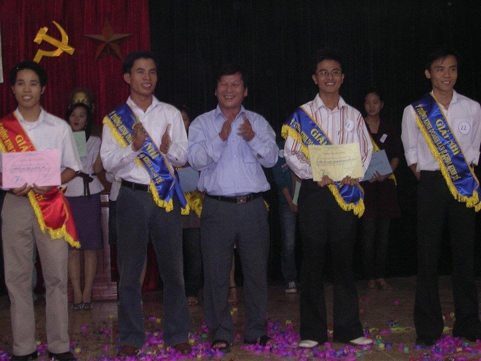 Trần Văn Ninh dành giải nhất trong một cuộc thi dành cho các Doanh nhân khởi nghiệp