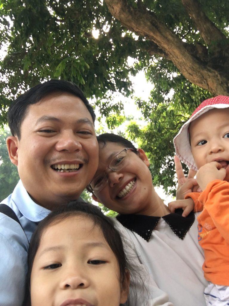 Tôi và gia đình thân yêu của mình khi chưa gặp Thầy Phạm Thành Long