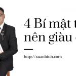 4 Bí mật khiến bạn chắc chắn trở nên giàu có